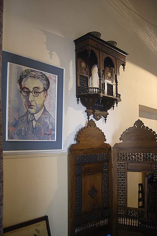 In the Cavafy Museum, Alexandria (Roland Unger, Wikimedia Commons)